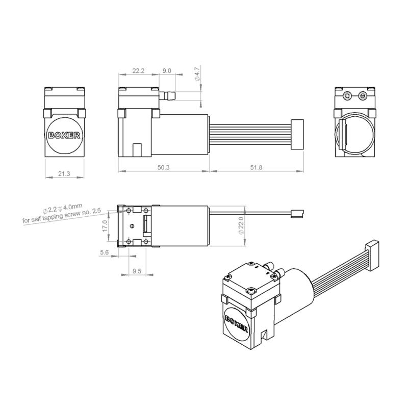 Pompes à liquide, -Pompes à membrane-Pompe à membrane 16K