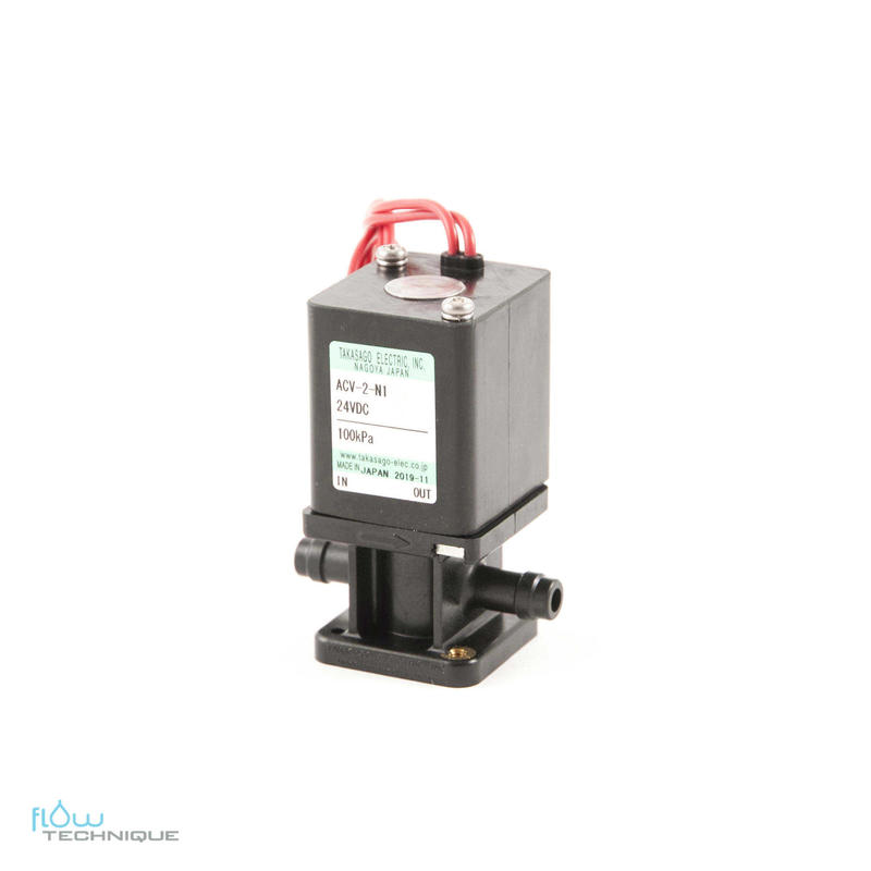 Electrovannes, -Electrovannes à membrane chimiquement inerte, -Diamètre de passage >3mm-Electrovanne ACV