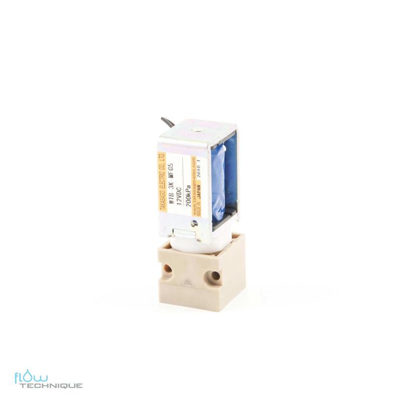 Electrovannes, -Electrovannes à membrane chimiquement inerte, -Diamètre de passage 1 à 2mmΦ-Electrovanne WTA-WTB