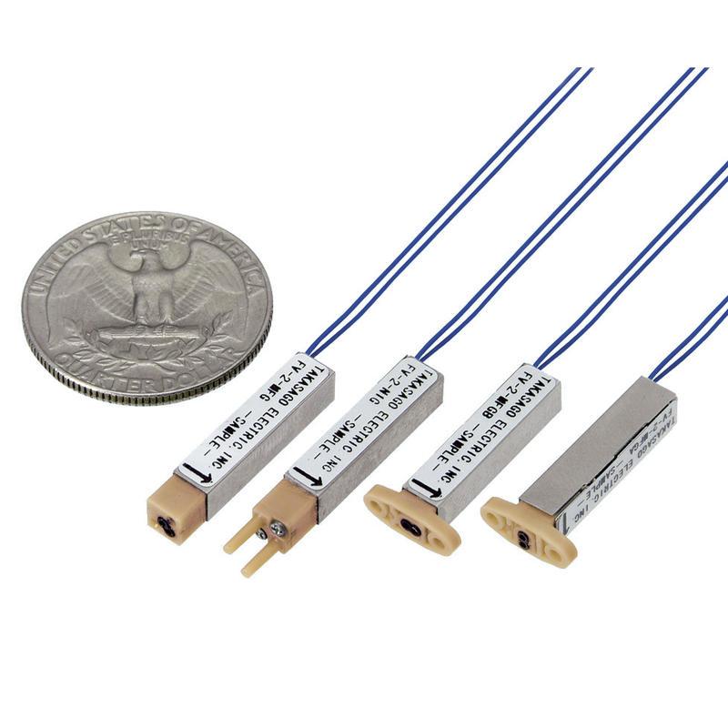 Electrovannes, -Electrovannes à membrane chimiquement inerte, -Diamètre de passage < 1mmΦ-Electrovanne FLV