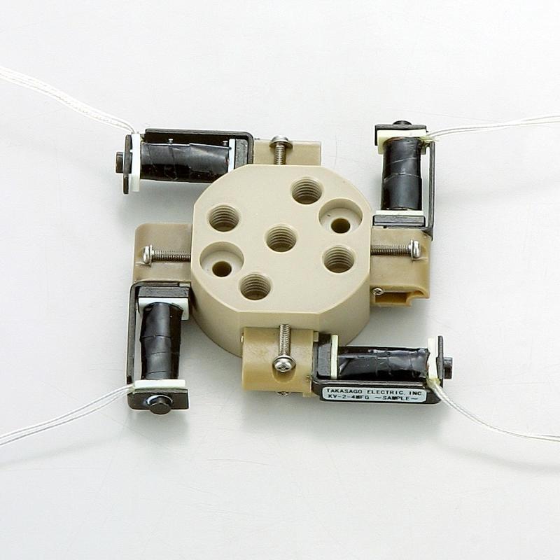 Electrovannes, -Electrovannes à membrane chimiquement inerte, -Diamètre de passage < 1mmΦ-Electrovanne KV