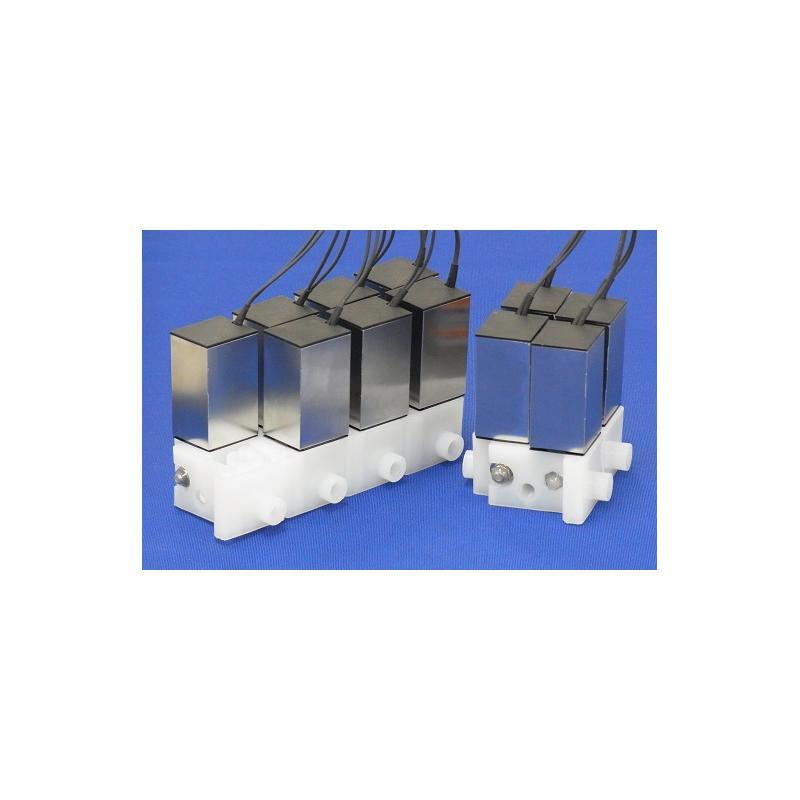 Electrovannes, -Produits Spéciaux-Série XTA-2E montée sur manifold