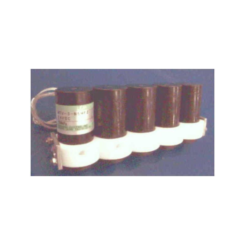 Electrovannes, -Electrovannes à membrane chimiquement inerte, -Diamètre de passage 1 à 2mmΦ-Electrovanne MTV