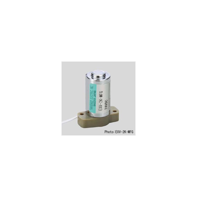 Electrovannes, -Electrovannes à membrane chimiquement inerte, -Diamètre de passage < 1mmΦ-Electrovanne EXV